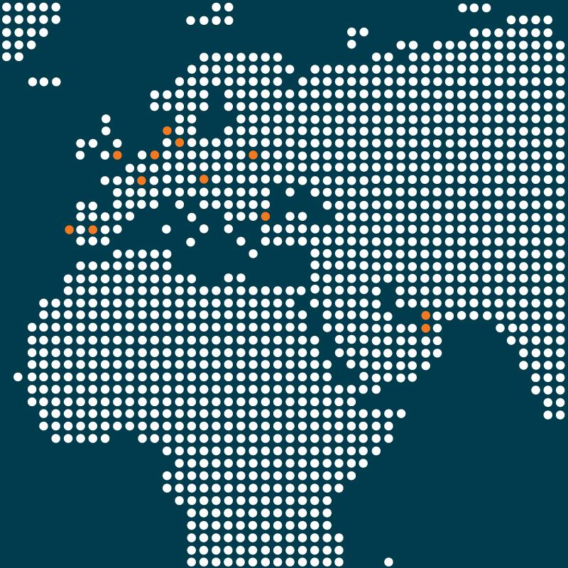 AWA Advanced Workplace Associates: International Capabilities - EMEA